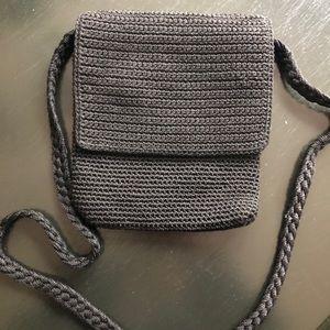 SAK Crocheted Crossbody Flap Bag